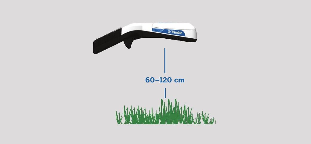 Ручной датчик биомассы GreenSeeker