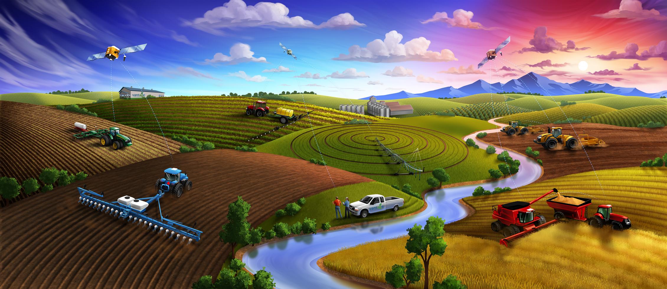 Программное обеспечение Trimble Ag Farmer