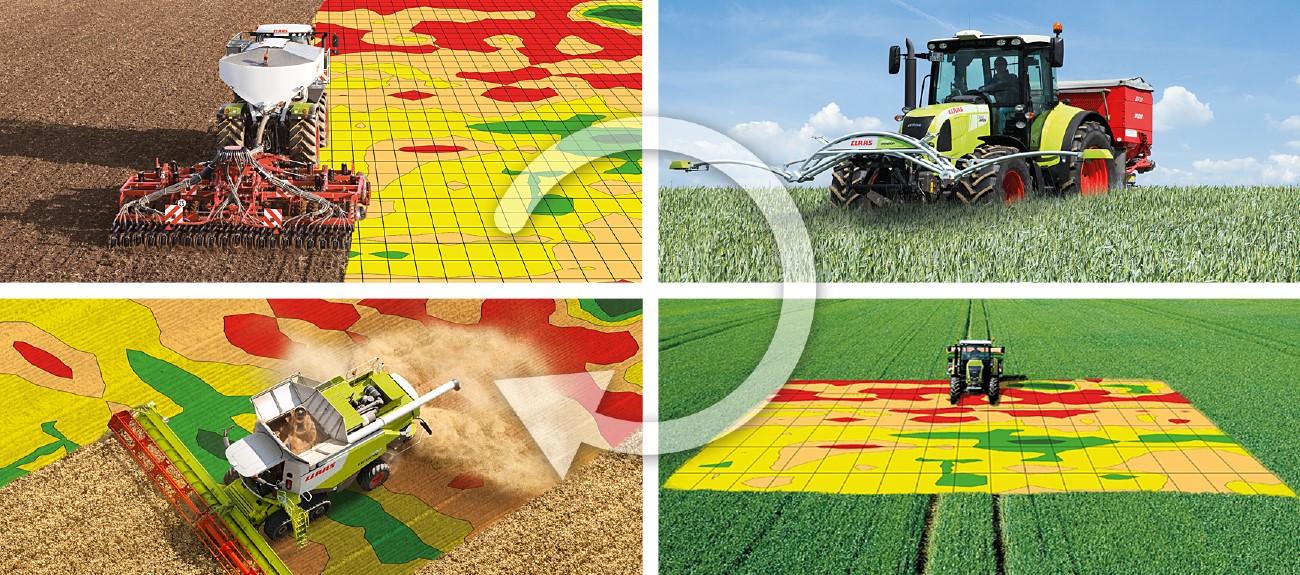 Внедрения технологии картирования урожая